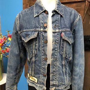 Levi Size M Distressed Denim Jacket